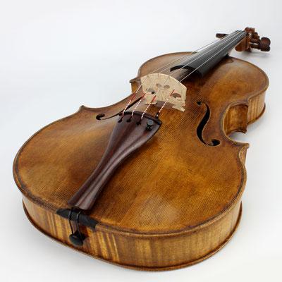Neubau Viola von Bratschenbauer aus Deutschland. Gebaut nach Giovanni Grancino 1670 - eine Bratsche mit kurzer Mensur und tollem warmen Ton