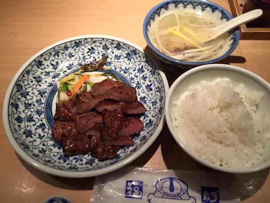 旅の締めは独り飯。 寂しさ紛らかしガッツリ牛タン定食@福助 怪しい路地に入ったら大正解のお店でした
