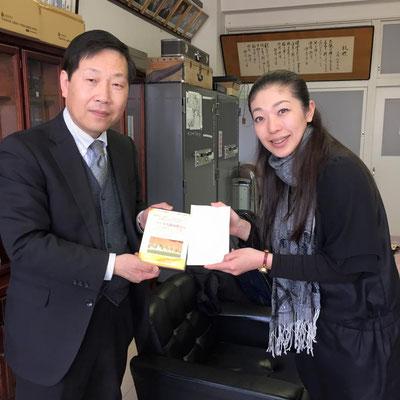 歌津中学校の中鉢校長先生は、どんな結果が出ても子供たちを守ると腹をくくり強い決心で毎日を過ごしておられます。