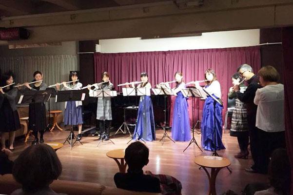 第1部(ティータイムコンサート)久保田裕美フルート教室の皆さん