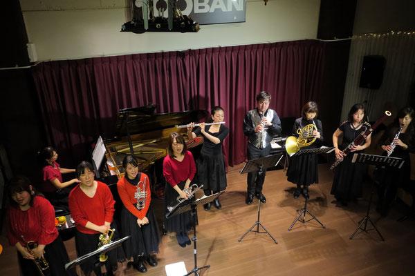 第2部(ナイトタイムコンサート)KOBABES&さくら木管五重奏
