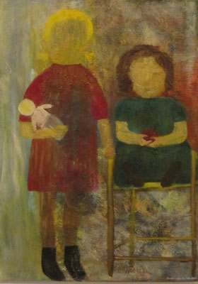Geschwister 1916, 2012, Öl auf Leinwand, 50 x 70 cm