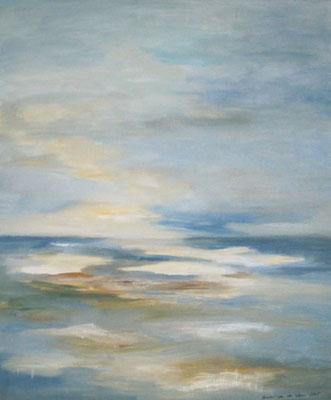 Morgensonne am Meer, 2005, Acryl auf Leinwand, 60 x 50 cm