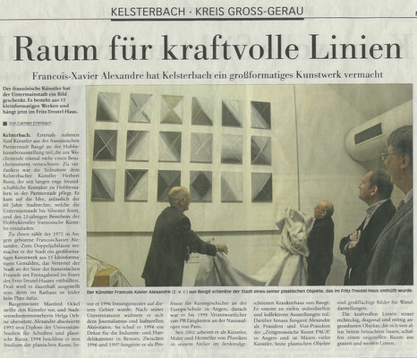 Frankfurter, novembre 2012