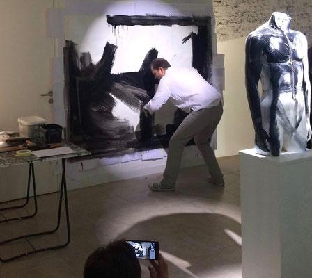 Event pictural solo à la galerie One Way