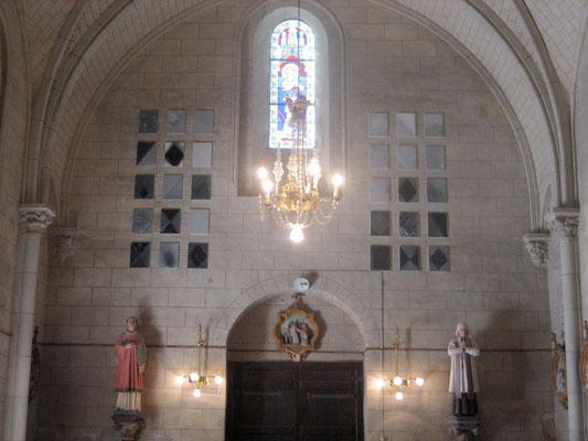 François-Xavier ALEXANDRE, Art et Chapelles, église d'Aubigné/Layon (Anjou)