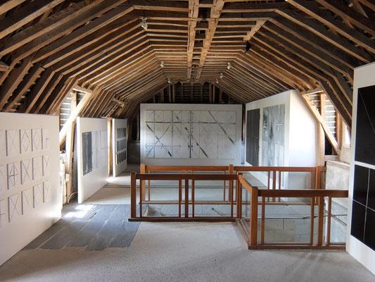 François-Xavier ALEXANDRE, exposition de l'abbaye de Bouchemaine
