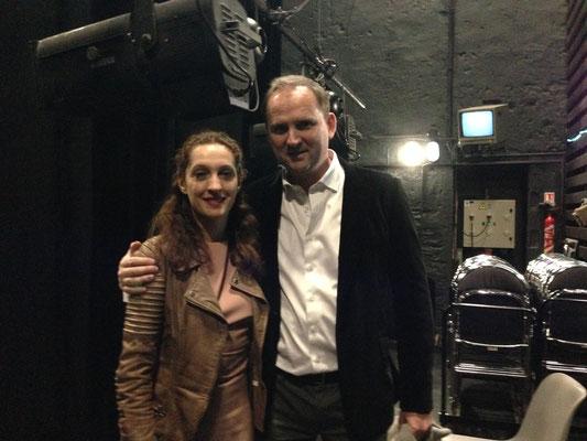Clarence MUGNIER-KOPITSKO (Compagnie Clair'Empreinte) chorégraphe et danseuse, François-Xavier ALEXANDRE. (2013)