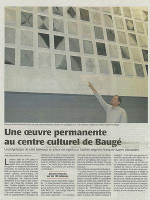 Le Courrier de l'Ouest du 27 novembre 2011