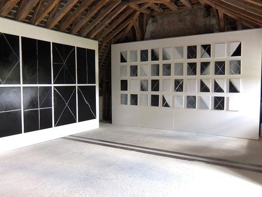 Exposition monographique de François-Xavier ALEXANDRE, abbaye de Bouchemaine (2013)