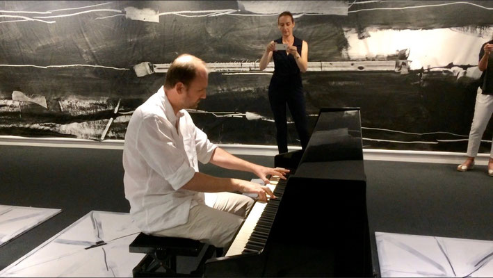 """François-Xavier ALEXANDRE, Event de connexions """"FX in situ-piano"""", Grand Théâtre d'Angers"""