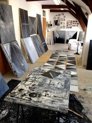Atelier de François-Xavier ALEXANDRE de l'Hôtel-Dieu de Baugé