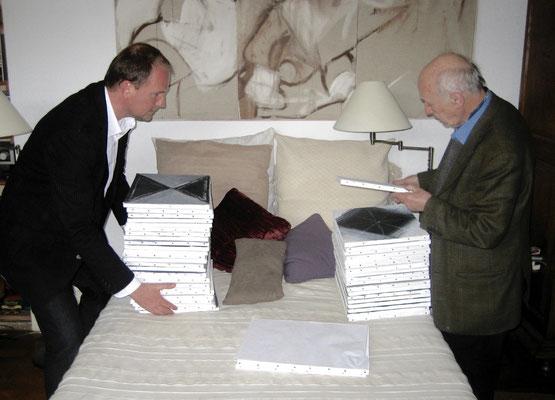 François-Xavier ALEXANDRE, Jacques VILLEGLÉ (atelier de François-Xavier ALEXANDRE). (2009)