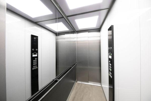 Moderne Lifttechnik gibt Sicherheit