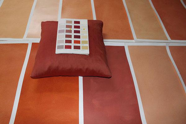 Wir bieten Ihnen eine Farbberatung und erstellen für Sie Farbmustern
