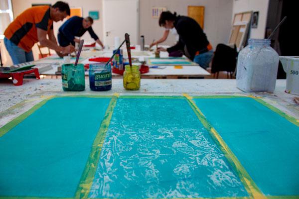 Workshop in Maltechnik - Grundlagen der Malerei