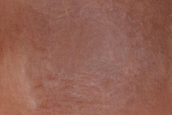 Tadelaktspachtelung im Farbton Dunkelrot-Braun