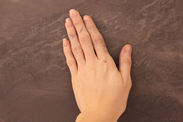 Tadelakt ist eine wasserabweisende Oberfläche