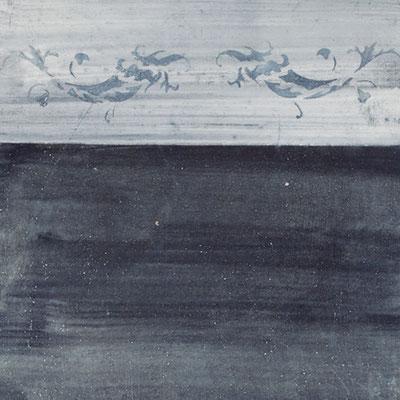 Die zarte Delphinbordüre gehöhrt zu den klassischen Römischen Ornamenten