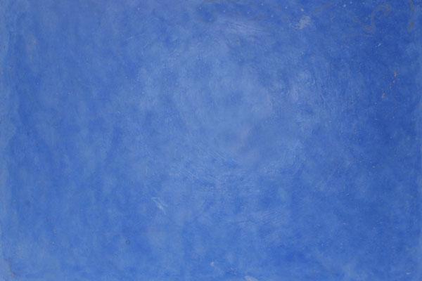 Tadelakt im Farbton Ultramarinblau