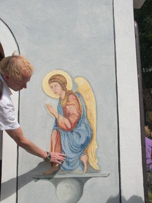 Freskenmaler René Claus von Aufwind