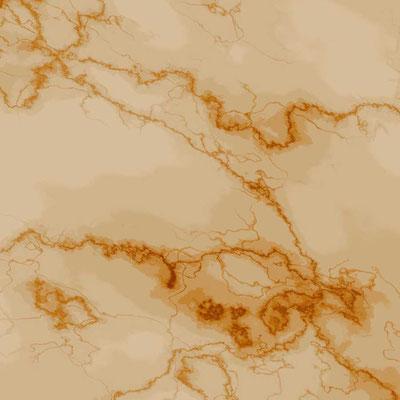 Gemalter Gelber Marmor mit einer ausdrucksstarken Maserierung
