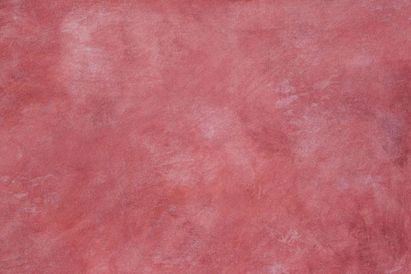 rote Wisch- oder Lasurtechnik mit lebendiger Struktur (aus Grundkurs 1)