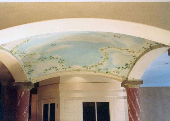 Für stilvolle Interieurs zum Träumen eignet sich die Illusionsmalerei hervorragend und verleiht dem Raum eine neue Dimension