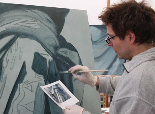 Jeder kann bei uns malen lernen. Unser Maluntericht ist für Anfänger und Profis
