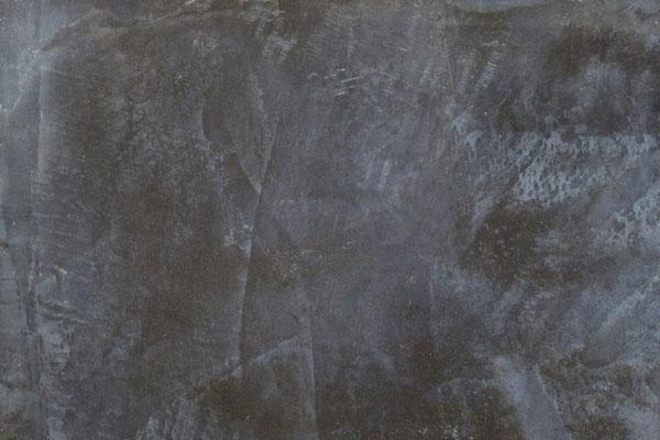 Farbmuster, Spachteltechnik in Antrazith Grau