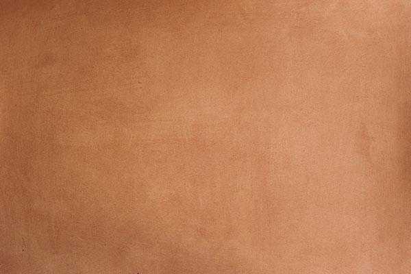 Lasurtechnik in Orange mit selbst aus Pigmenten hergestellter Acryllasur (aus Grundkurs 1)