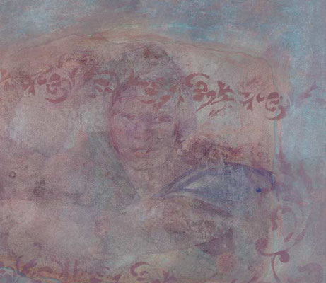Der Eindruck von verwitterten, alten Fresken kann auch ein schöner Effekt sein