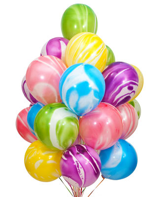 """Новинка! Шары - агаты это изюминка в композиции из шаров! Пр-во""""Веселый праздник"""" Китай 30 см 50 р."""