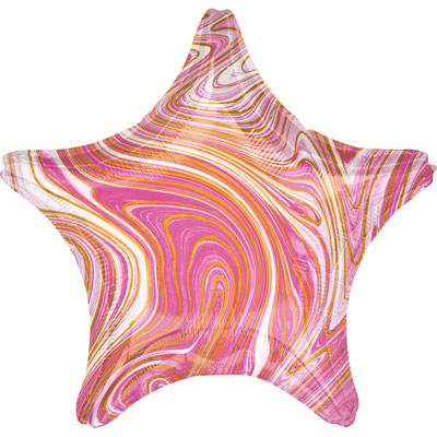 Звезда агат розовый воздух 90 р., гелий 140 р.
