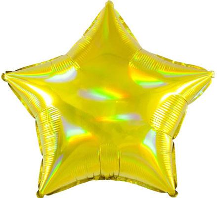 Звезда голография воздух 55 р., гелий 105 р.