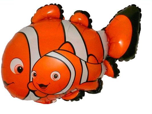 Рыба-клоун Марлин с сыном Немо воздух 200 р., гелий 340 р.