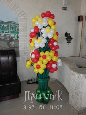 27 цветочков 1500 р.