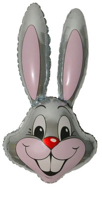 Голова зайца воздух 180 р., гелий 280 р.