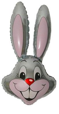 Голова зайца воздух 240 р., гелий 340 р.
