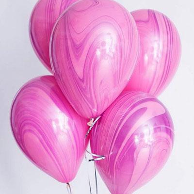 Новинка! Шары - агаты это изюминка в композиции из шаров! Пр-во Qualatex США 30 см по 70 р.