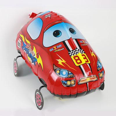 Машинка 3D-фигура 55 см. Надувается гелием и легко передвигается за веревочку 150 р.