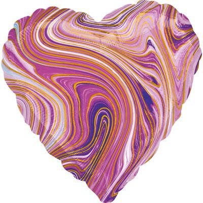 Сердце агат сиреневый воздух 90 р., гелий 140 р.