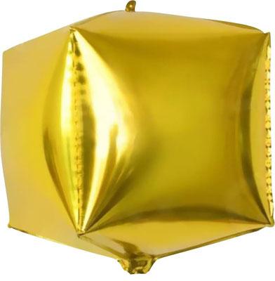 Шар куб выс. 32 см воздух 160 р., гелий 255 р.