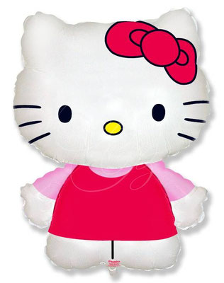 Kitty выс. 65 см воздух 240 р., гелий 310 р.