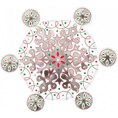 Снежинка 70 см воздух 310 р., гелий 435 р.