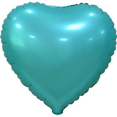 Сердце 45 см сатин тиффани 110 р. (пр-ва Китай Falali).