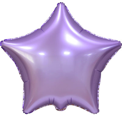 Сердце 45 см сатин сиреневый 100 р. (пр-ва Китай Falali).