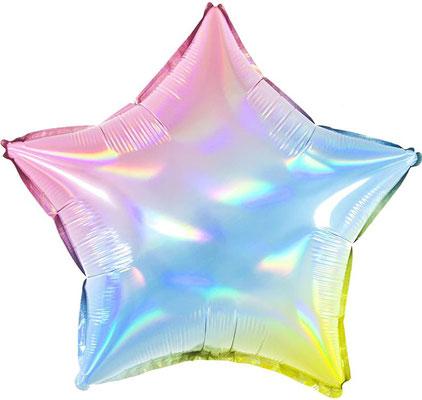 Звезда нежный градиент голография воздух 55 р., гелий 105 р.