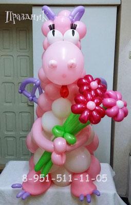 Розовый дракончик 800 р.
