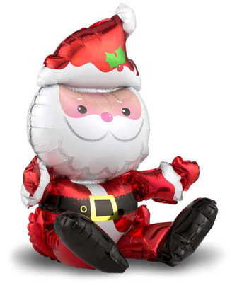 3D фигура Дед Мороз сидячий выс. 45 см 100 р.